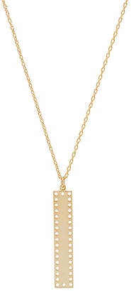 Natalie B Dusk Bar Necklace
