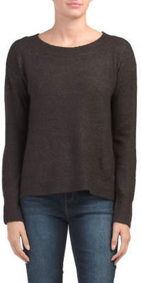 Cozy Boat Neck Pullover Sweater