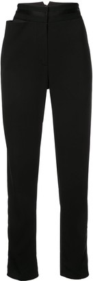 Valery Kovalska tapered high waisted trousers