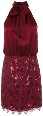 Tufi Duek sequinned short dress