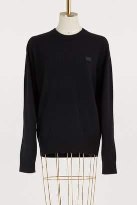 Acne Studios Nalon crew neck sweater