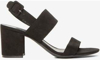 Dorothy Perkins Womens Black 'Sadie' Block Heel Sandals