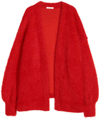 H&M Fluffy Cardigan - Red