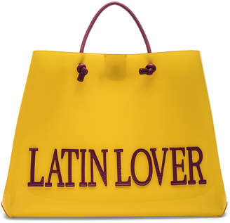 Alberta Ferretti Latin Lover Large Tote in Yellow | FWRD