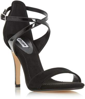 Dune LADIES MADELEINE - Strappy Cross Strap Heeled Sandal