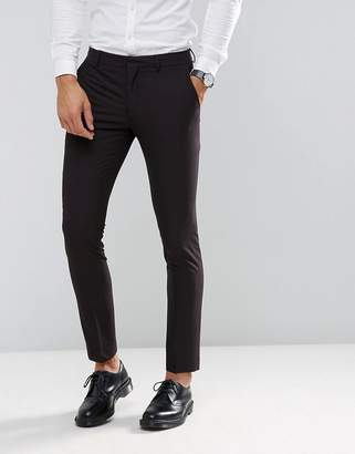 Selected Skinny Tuxedo Suit PANTS