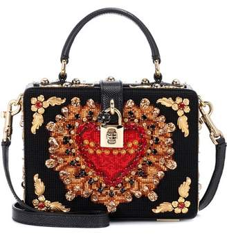Dolce & Gabbana Dolce Box embellished shoulder bag