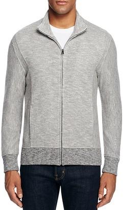 Billy Reid Heathered Track Jacket $175 thestylecure.com