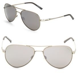 58MM Aviator Sunglasses $179 thestylecure.com