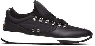 Barracuda Sneakers In Leatehr And Fabric