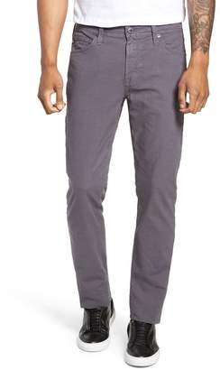 AG Jeans Everett Houndstooth Slim Fit Pants