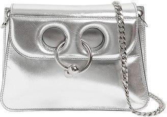 J.W.Anderson Mini Pierce Metallic Leather Bag