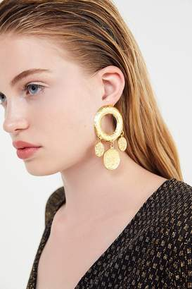 Urban Outfitters Mythology Coin Statement Earring