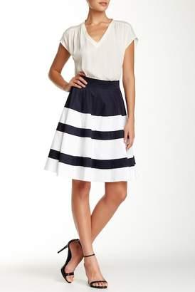 Amanda & Chelsea Colorblock Circle Skirt