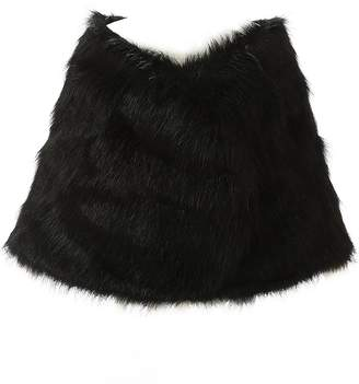 EllieHouse Faux Fur Wrap Jakcet Bolero Shawl For Wedding Dress Winter NJ13WT-M
