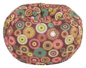 """Gold Medal Small 105"""" Starburst Pinwheel Cotton Bean Bag"""