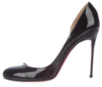 Christian Louboutin Patent Leather High Heel Pumps