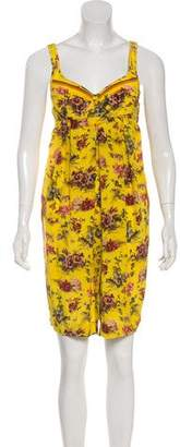 Jean Paul Gaultier Silk Printed Dress