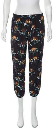 Thakoon Mid-Rise Floral Jogger