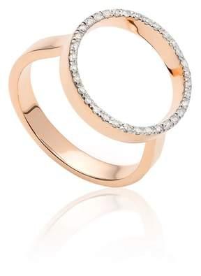 Monica Vinader Naida Diamond Circle Ring