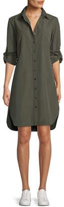 Finley Alex Long-Sleeve Button-Front Shirtdress