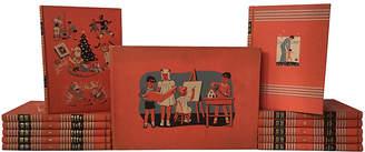 One Kings Lane Vintage Complete Childcraft 14 Volume Set - Brandywine Bookshop