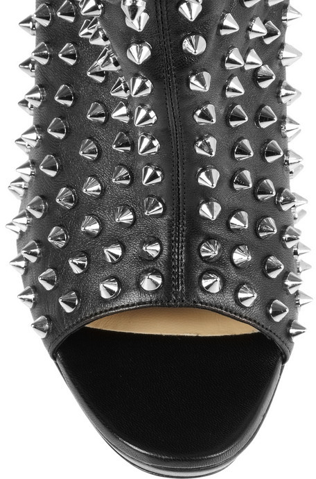 Christian Louboutin Guerilla 120 studded leather ankle boots