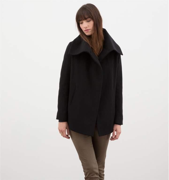 LPB Woman Mantel - schwarz