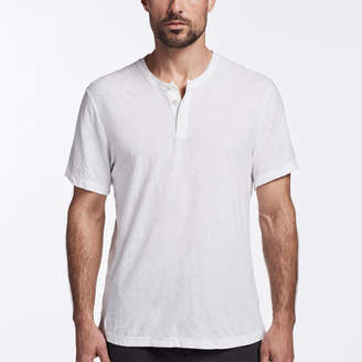 James Perse COTTON LINEN HENLEY