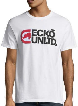 Ecko Unlimited Unltd. Short-Sleeve Cold Shoulder Tee