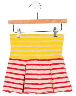 Stella McCartney Girls' Striped A-Line Skirt