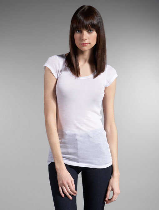 American Vintage Basic Cotton Cap Sleeve Tee