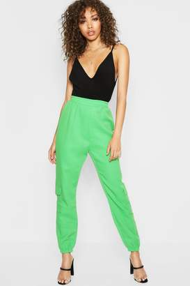 boohoo Pocket Side Luxe Joggers