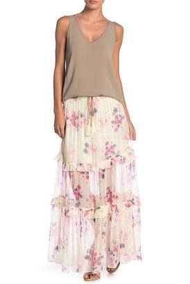 Love Sam Monroe Floral Printed Maxi Skirt