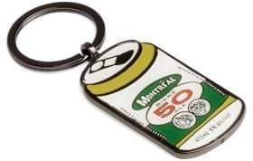 Main And Local Montreal Beer Can Keychain