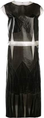Maison Margiela sleeveless coated plastic dress
