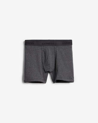 Express Solid Cotton Blend Boxer Briefs