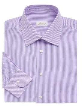 Brioni Dual Stripe Dress Shirt