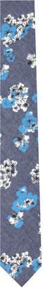 Original Penguin Men's Laver Floral Skinny Tie