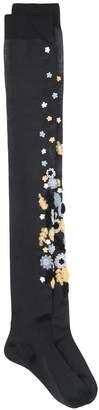 Miu Miu appliqué long socks