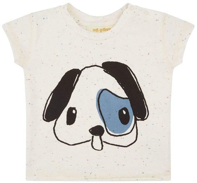 Soft Gallery Dog Print Ashton T-Shirt