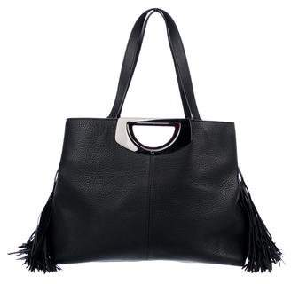 Christian Louboutin Leather Passage Shopping Tote