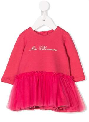 Miss Blumarine tulle skirt dress