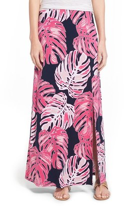 Women's Tommy Bahama 'Pop Art Palms' Print Jersey Maxi Skirt $128 thestylecure.com