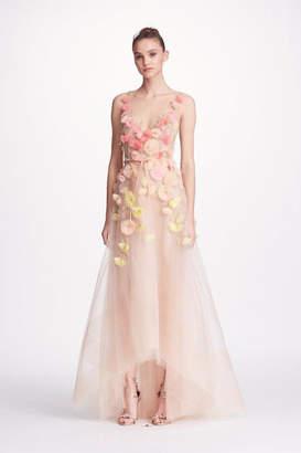 Marchesa 3d Floral Gown