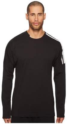Yohji Yamamoto 3 Stripes Long Sleeve T-Shirt Men's T Shirt