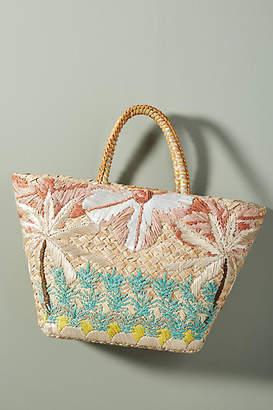 Aranaz Beach Straw Tote Bag