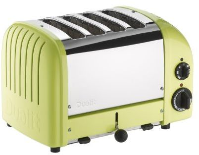 Dualit Lime-Green NewGen 4-Slice Toaster