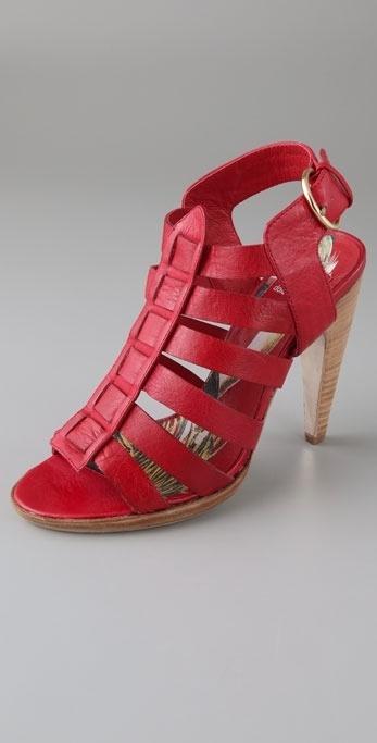 Dolce Vita Cajun High Heel Gladiator Sandals