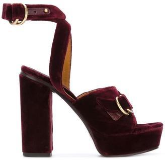 Chloé 'Kingsley Plateau' sandals